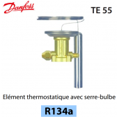 Elément thermostatique TEN 55 - 067G3222 - R134a Danfoss