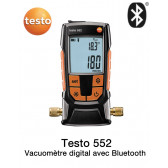 Testo 552 - Vacuomètre digital avec Bluetooth