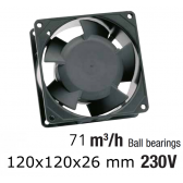 Ventillateur axial compact TF MC 12025HB