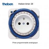 Prise programmable analogique timer 26 de Theben