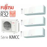Fujitsu Tri-Split Muraux AOY71M3-KB + 2 ASY20MI-KMCC + 1 ASY35MI-KMCC