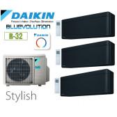 Daikin Stylish Trisplit 3MXM68N9 + 2 CTXA15BB + 1 FTXA42BB- R32