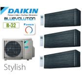 Daikin Stylish Trisplit 3MXM68N9 + 2 CTXA15BT + 1 FTXA42BT- R32