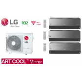 LG Tri-Split ARTCOOL MIRROR MU3R19.U21 + 2 X AM07BP.NSJ + 1 X AC09BQ.NSJ
