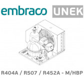 Groupe de condensation Embraco UNEK6217GK