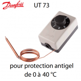 Thermostat pour protection antigel UT 73 Danfoss