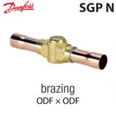 "Voyant de liquide SGP 12s N -  014-0183 Danfoss - Raccordement 1/2"" à brasser"