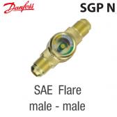 """Voyant de liquide SGP 19 N -  014L0166 Danfoss - Raccordement 3/4"""" à visser M X M"""