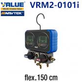 Coffret manomètre digital VRM2-0101i de Value