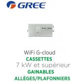 GREE WiFi G-cloud pour Cassettes 7 kW, gainables et allèges/plafonniers