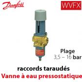 Vanne à eau pressostatique WVFX 10 - 003N1100 Danfoss