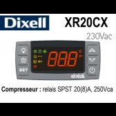Régulateur digital XR20CX-5N0C1 de Dixell