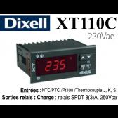 Régulateur universel digital XT110C-5C0TU de Dixell