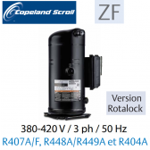 Compresseur COPELAND hermétique SCROLL ZF13 K4E-TFD-551