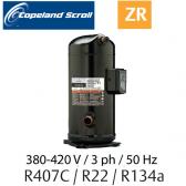 Compresseur COPELAND hermétique SCROLL ZR72 KCE-TFD-422