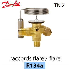 Détendeur thermostatique TN 2 - 068Z3346 - R134a Danfoss
