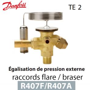 Détendeur thermostatique TE 2 - 068Z3713 - R407A; R407F