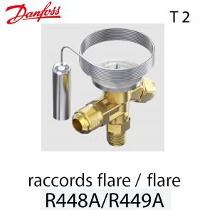 Détendeur thermostatique T 2 - 068Z3731 - R448A, R449A