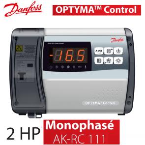 Régulateur de chambre froide Optyma Control - Monophasé, AK-RC 111 de Danfoss