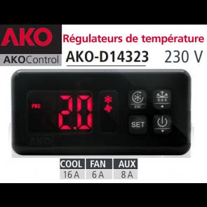 Régulateur AKO-D14323 avec deux sondes NTC