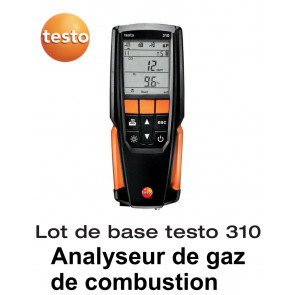 Testo 310 - Analyseur de combustion - Lot de base