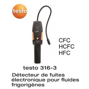 Testo 316-3 - Détecteur de fuites de fluides frigorigènes