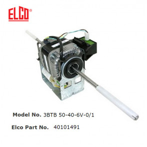 Moteur 3BTB 50-40-6V-0/1 de Elco