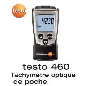 Testo 460 - Tachymètre optique de poche