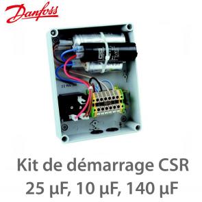 Kit de démarrage CSR, boîtier précablé, 7701029 Danfoss