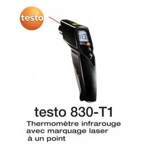 Testo 830-T1 - Thermomètre infrarouge avec marquage laser à un point
