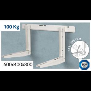 Support pré-assemblé avec niveau jusqu'à 100 kg - 600x400x800 mm