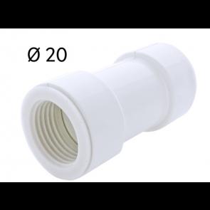 Manchon FF Ø 20 pour tube rigide