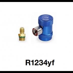 Coupleur manuel avec adaptateur pour R1234yf Basse pression