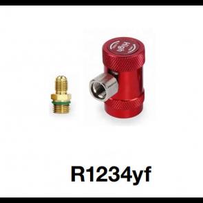 Coupleur manuel avec adaptateur pour R1234yf Haute pression
