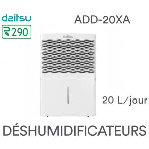 Déshumidificateur digital DAITSU DEHUMIDIFIER ADD-20XA