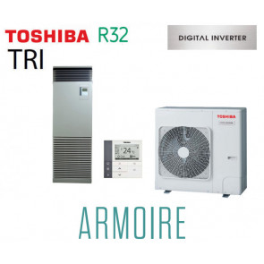 Toshiba ARMOIRE Digital Inverter RAV-RM1101FT-ES triphasé