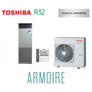 Toshiba ARMOIRE Digital Inverter RAV-RM1401FT-ES monophasé