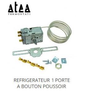 """Thermostat universel """"Atea"""" W2 - Refrigérateur 1 porte à bouton poussoir - 1200 mm"""