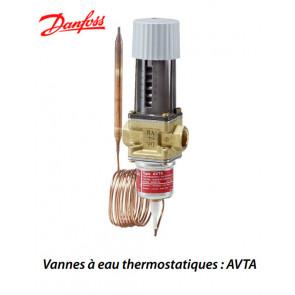 Vannes à eau thermostatiques AVTAde Danfoss