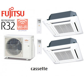 Fujitsu Bi-Split CASSETTES 600 X 600 AOY50MI-KB + 2 AUY 25 Ui-MI