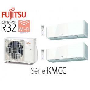 Fujitsu Bi-Split Mural AOY50MI-KB + 1 ASY20MI-KMCC + 1 ASY35MI-KMCC