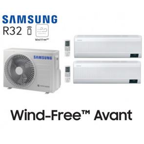 Samsung Wind-Free Avant Bi-Split AJ050TXJ2KG + 1 AR07TXEAAWK + 1 AR12TXEAAWK
