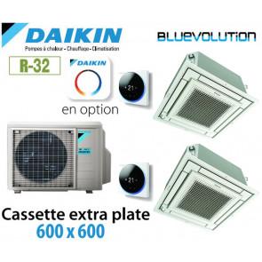 Daikin Cassette extra plate 600 x 600 Bisplit 2MXM68N + 2 FFA35A9 - R32