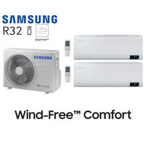 Samsung Wind-Free Comfort Bi-Split AJ050TXJ2KG + 1 AR07TXFCAWKN + 1 AR12TXFCAWKN