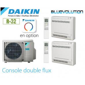 Daikin Console carrossée Bisplit 2MXM50N + 2 FVXM25F - R-32