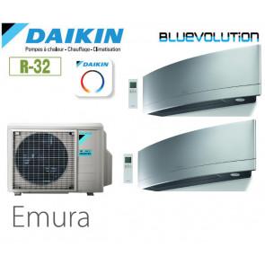 Daikin Emura Bisplit 2MXM50N + 2 FTXJ25MS - R32