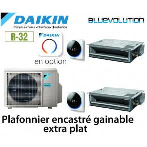Daikin Gainable Extra-plat Bisplit 2MXM68N + 2 FDXM35F9 - R32