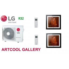 LG Bi-Split ARTCOOL GALLERY MU3R21.U21 + 1 X MA09R.NF1 + 1 x MA12R.NF1 - R32