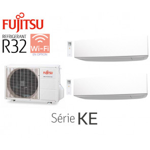 Fujitsu Bi-Split Mural AOY40MI-KB + 2 ASY20MI-KE
