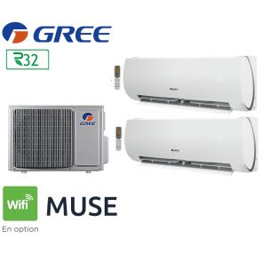 GREE Bi-split MUSE FM 18 + 1 FM MUSE 7 + 1 FM MUSE 12
